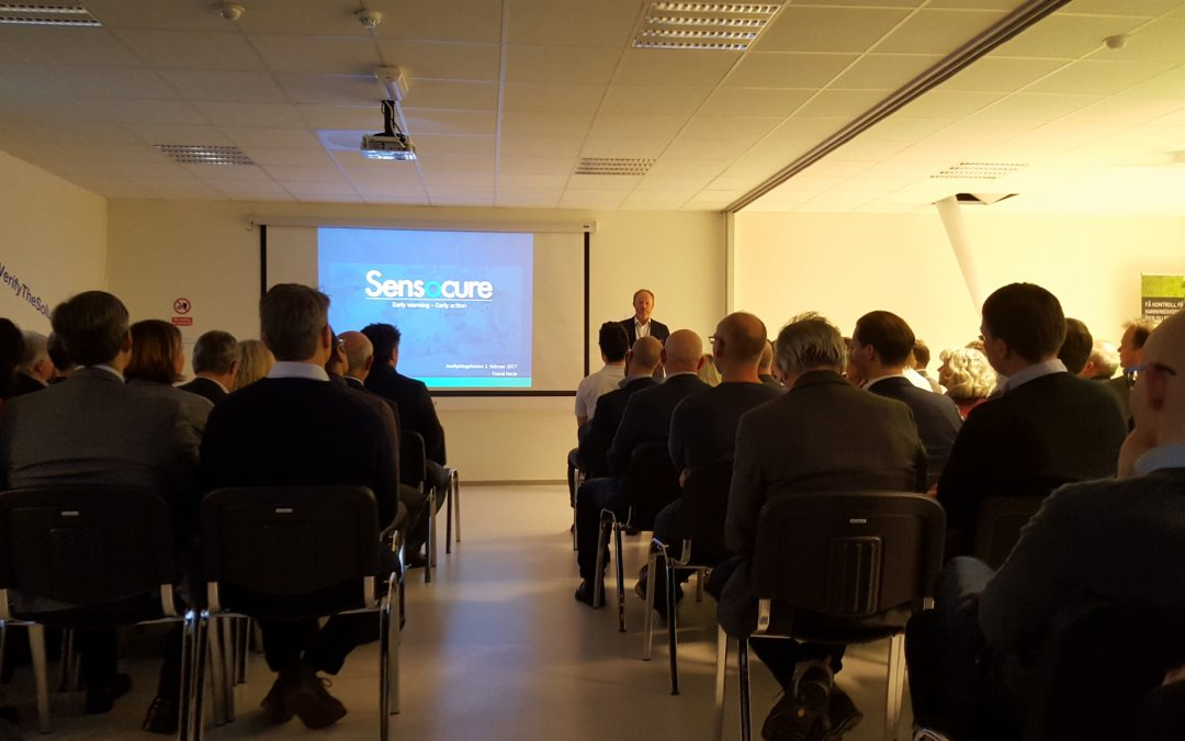 Official opening of Verify the solution and Sensocure